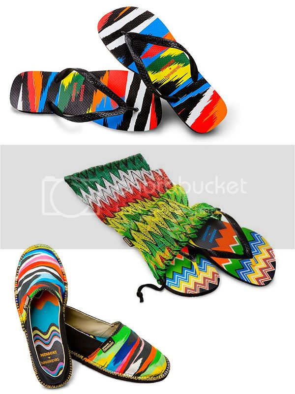 havaianas e missoni